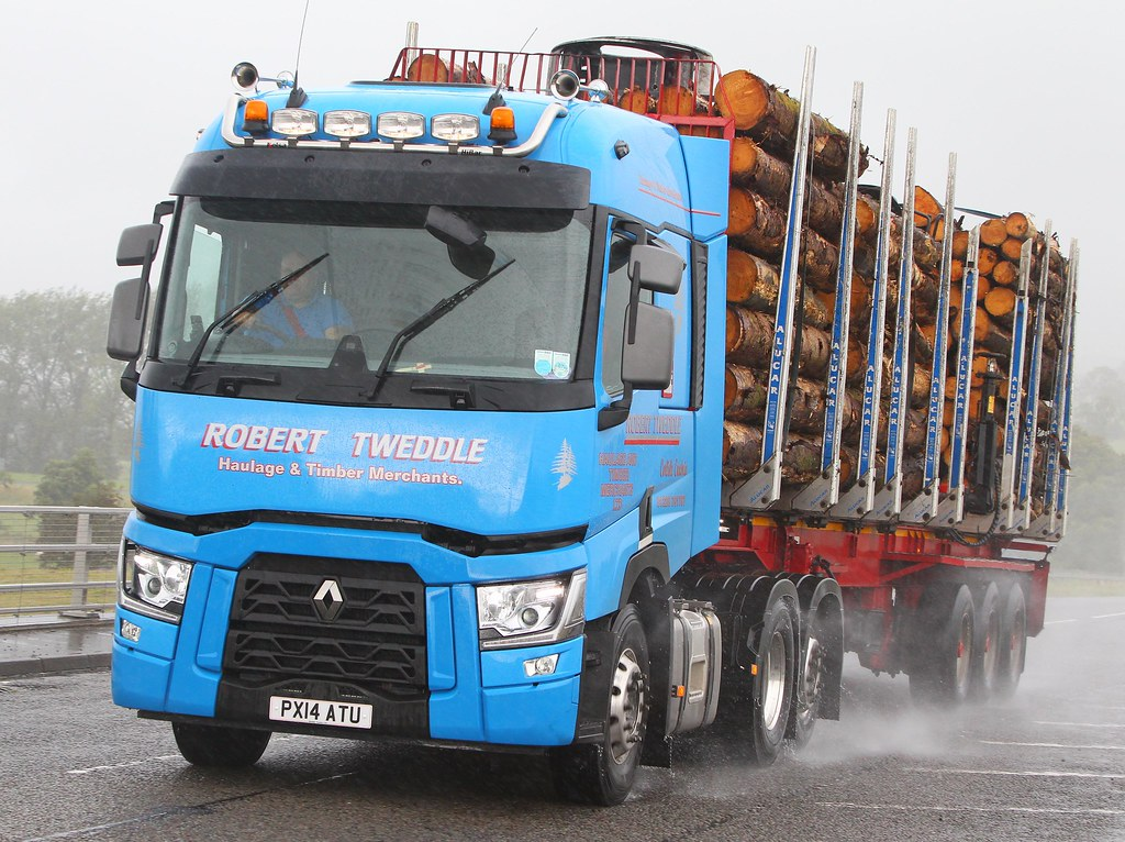 Renault Range T Px14 Atu Robert Tweddle Near Lockerbie