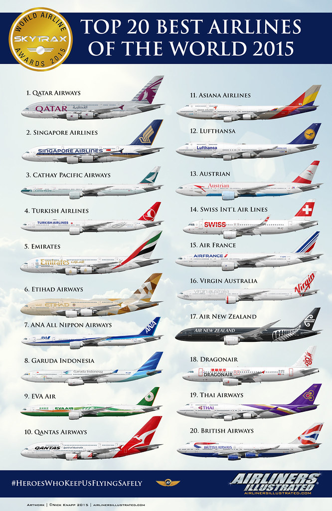 Best 20 New Years Nail Designs Ideas On Pinterest: THE BEST AIRLINES IN THE WORLD 2015 TOP 20
