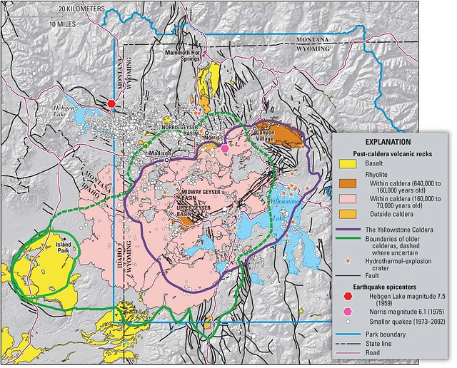 Usa wyoming nasa suggests geothermal power plants around yellowstone sciox Gallery