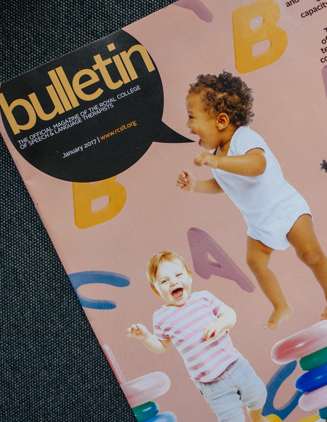 bulletin magazine cover collage by laura redburn