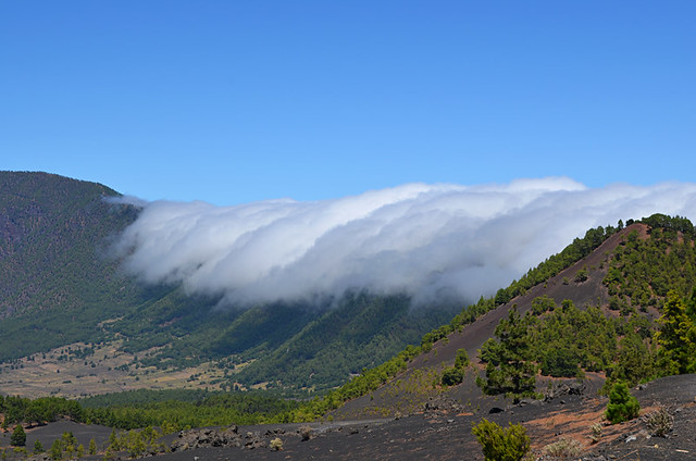 Cloud cauldron, Aridane Valley, La Palma