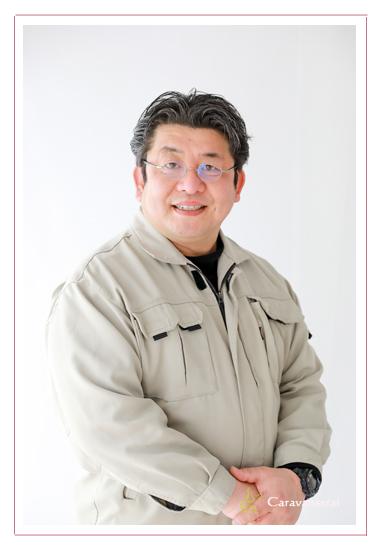 京屋 愛知県瀬戸市 工具・建築金物の専門店 湯浅正樹社長のプロフィール写真 出張撮影 データ納品 ホームページ・ブログ・フェイスブック用