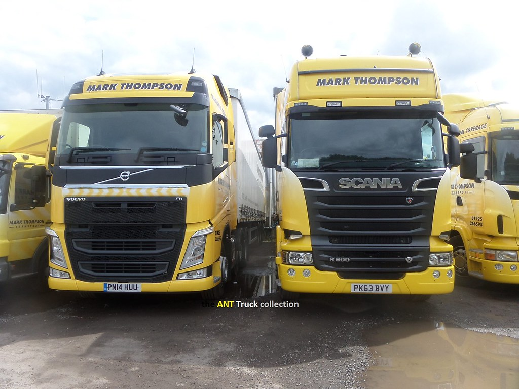 my mate 39 s new trucks scania r500 pk63 bvy volvo 500 fh flickr. Black Bedroom Furniture Sets. Home Design Ideas