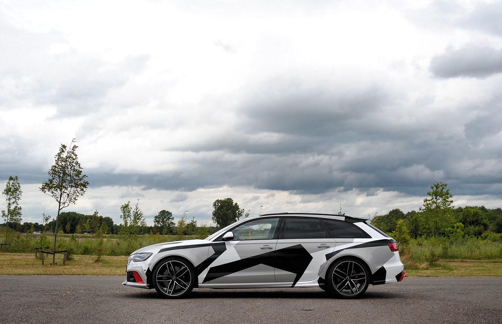 Audi Rs6 Avant C7 Jon Olsson Camouflage Ad Van Der Aa