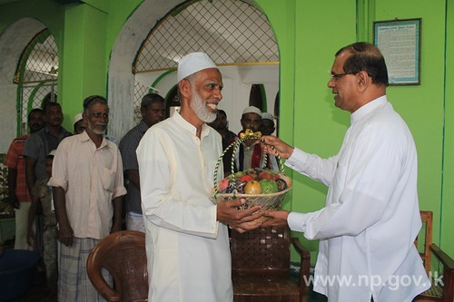 Governor participates at Iftar program – 20 July 2014
