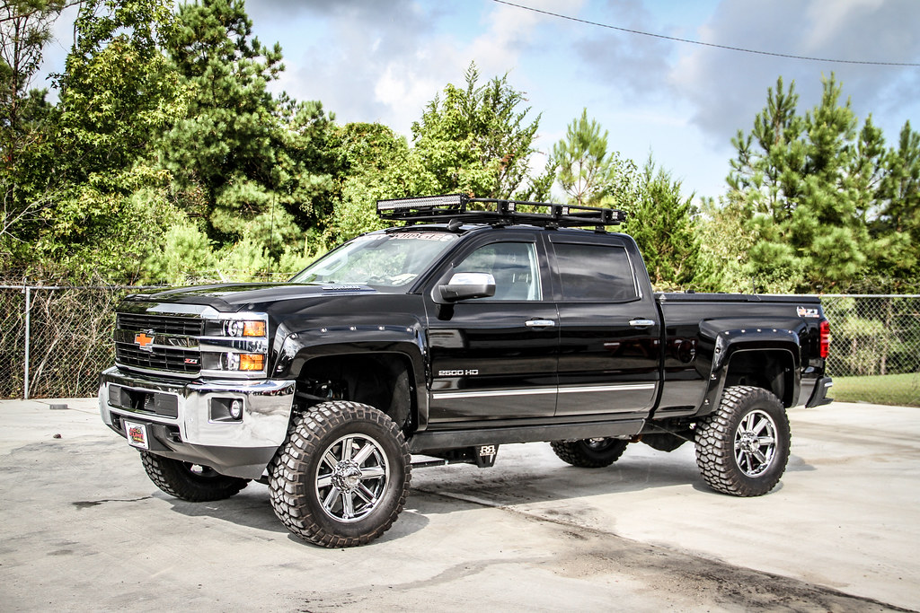 Lifted Chevy Silverado A Lifted Chevy Silverado 2500 Hd