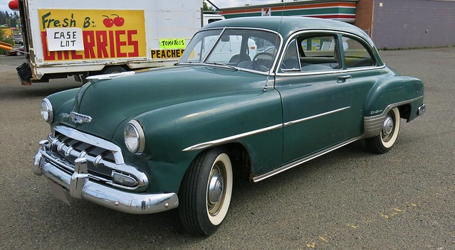 1952 chevrolet styleline deluxe 2 door sedan flickr