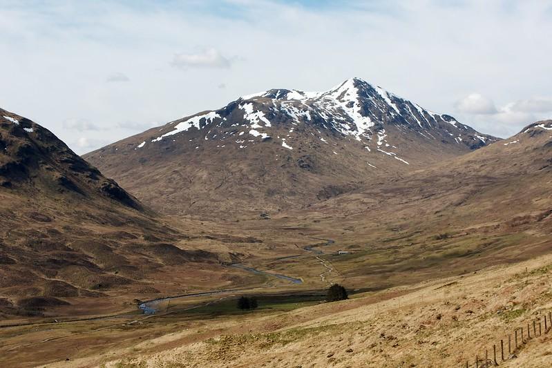 Ben Challum above Glen Lochay