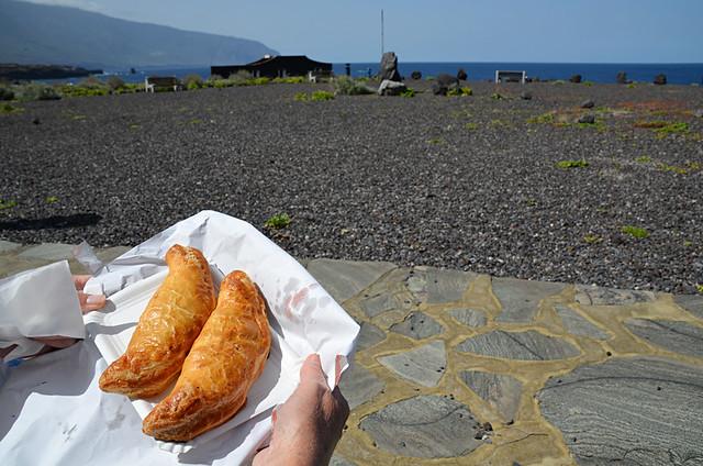 Chicken pies, El Golfo, El Hierro