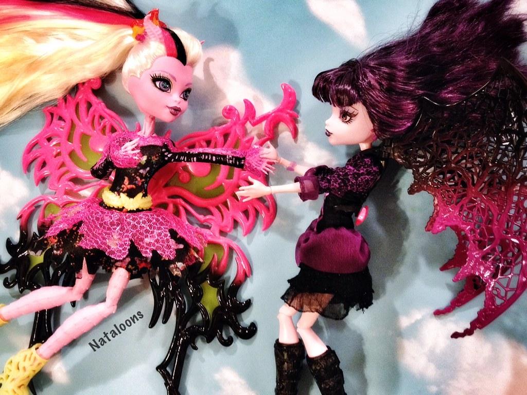 Flights of fancy monster high bonita femur and elissabat - Monster high bonita ...