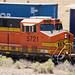 Train by pre-1937 Route 66, Correo, New Mexico