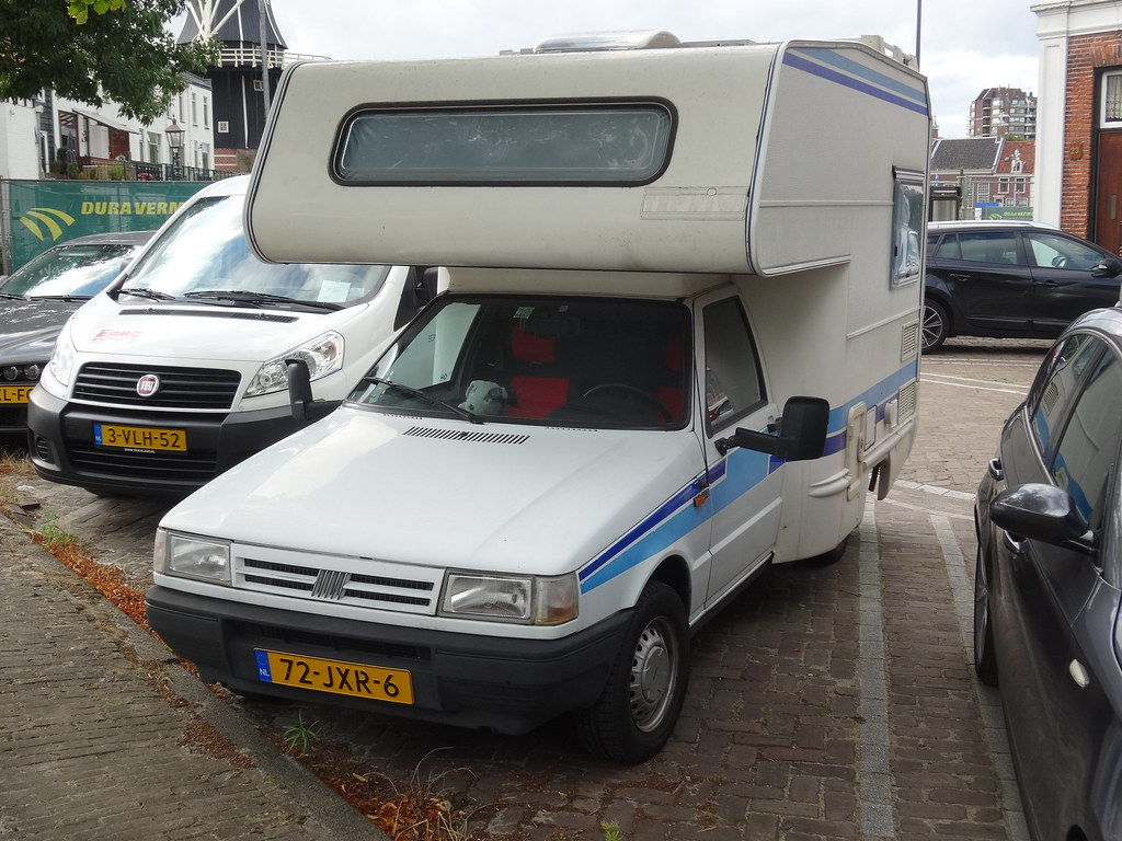1996 Fiat Fiorino Camper The Second Generation Of The
