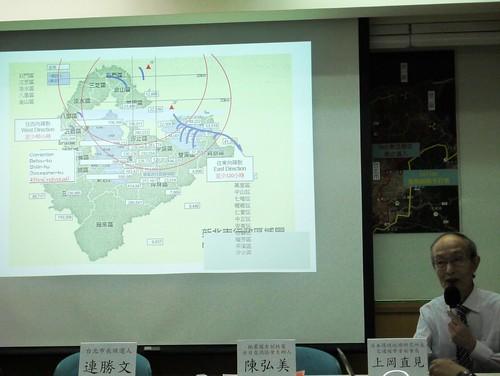 上岡直見對於台灣至今連8公里半徑內的演習都無法完成演練,感到荒謬與擔憂;攝影:賴品瑀。