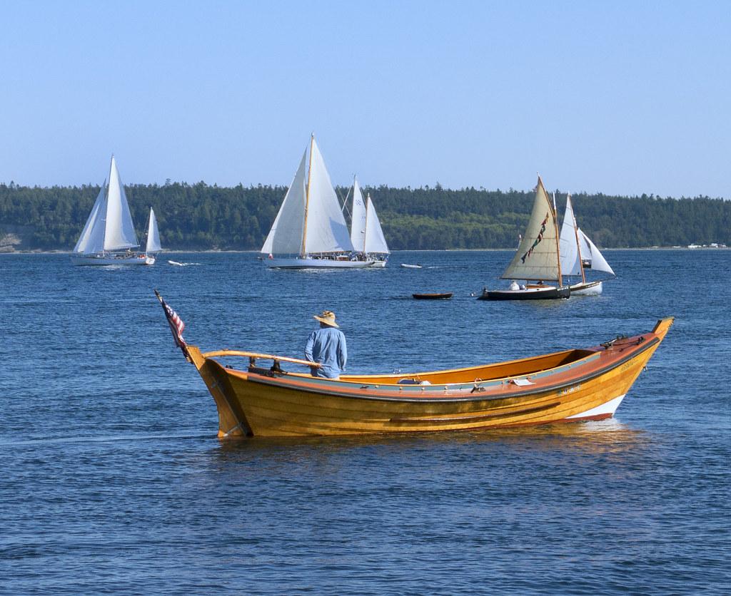 Arrow St. Pierre Dory | Port Townsend's 2014 Wooden Boat Fes… | Flickr