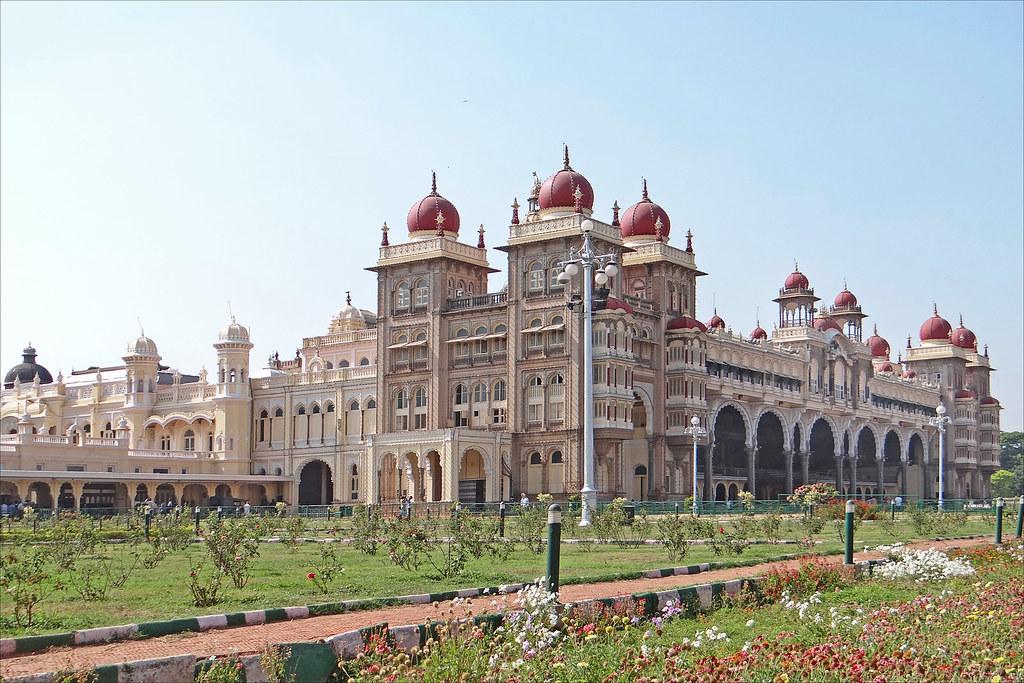 le palais du maharaja mysore inde vue d 39 ensemble du jar flickr. Black Bedroom Furniture Sets. Home Design Ideas