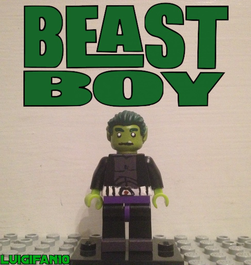 lego beast boy - photo #24