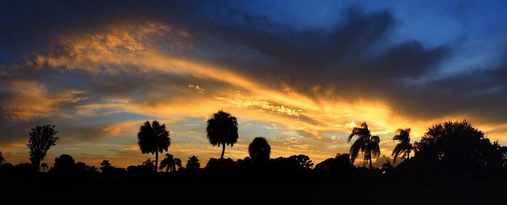Monday's Sunset Panorama