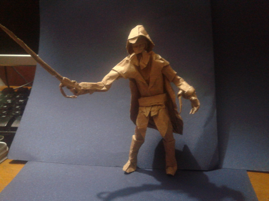 origami assassin creed arno | desing and folding andres ... - photo#4