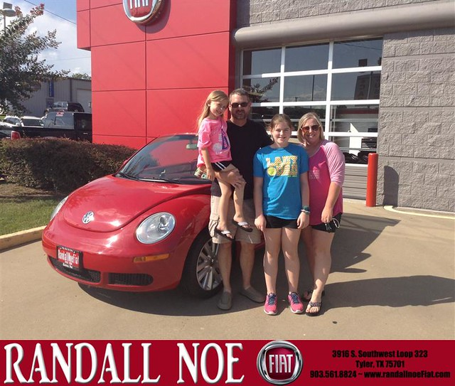 Randall Noe Used Cars In Terrell Texas >> Congratulations to Patricia Errvin on your new car purchase from Tony Smith at Randall Noe FIAT ...