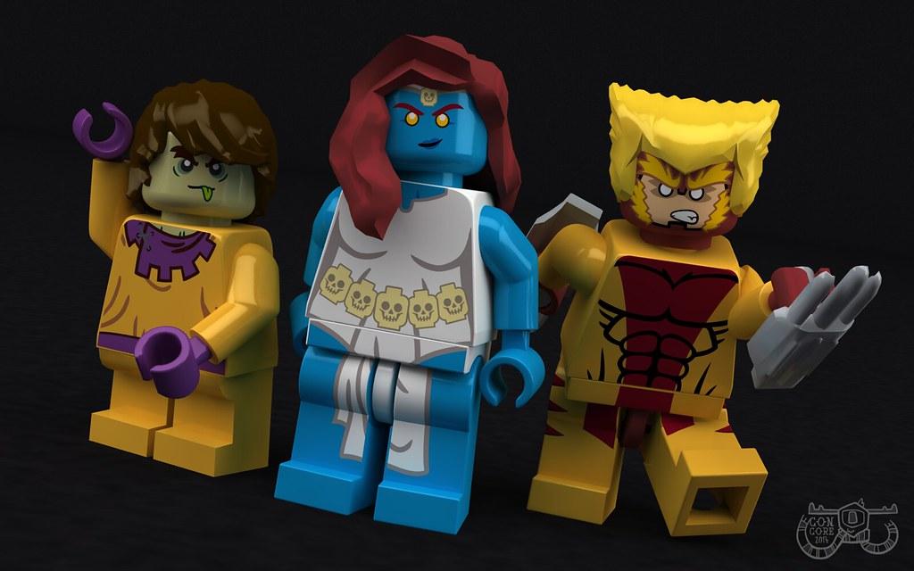 LEGO MARVEL - Brotherhood of Evil Mutants   Brotherhood of ...