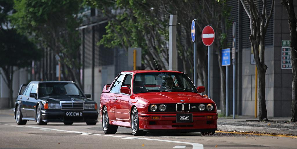 Bmw E30 M3 Quot Sport Evolution Quot Mercedes Benz 190e Evol