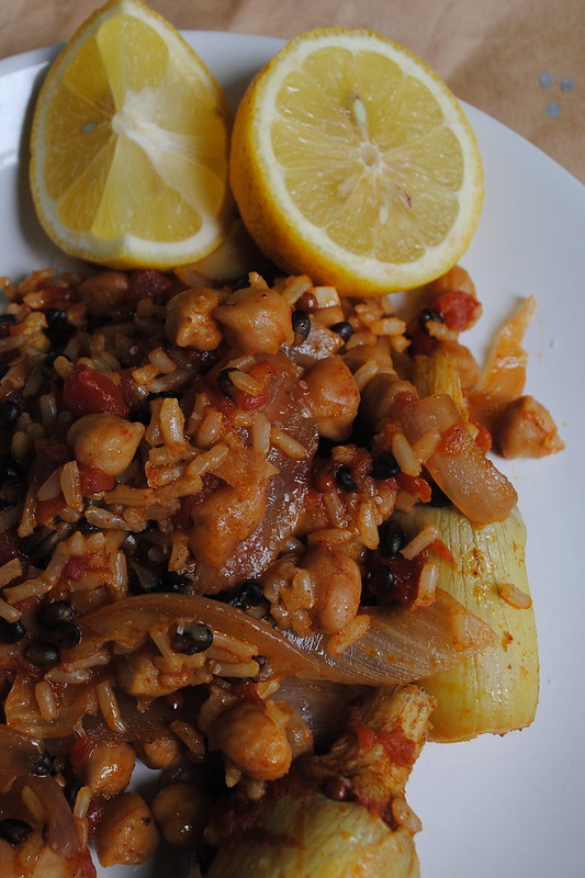 Spanish Chickpeas & Rice