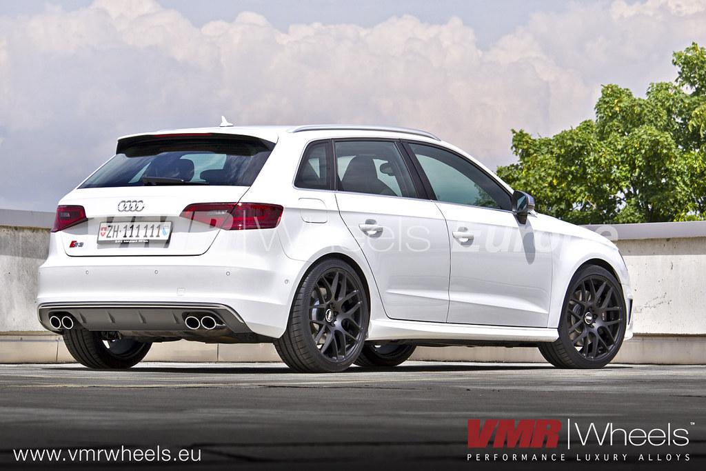 Vmr Wheels V710 Matte Black Audi S3 Sportback Vmr