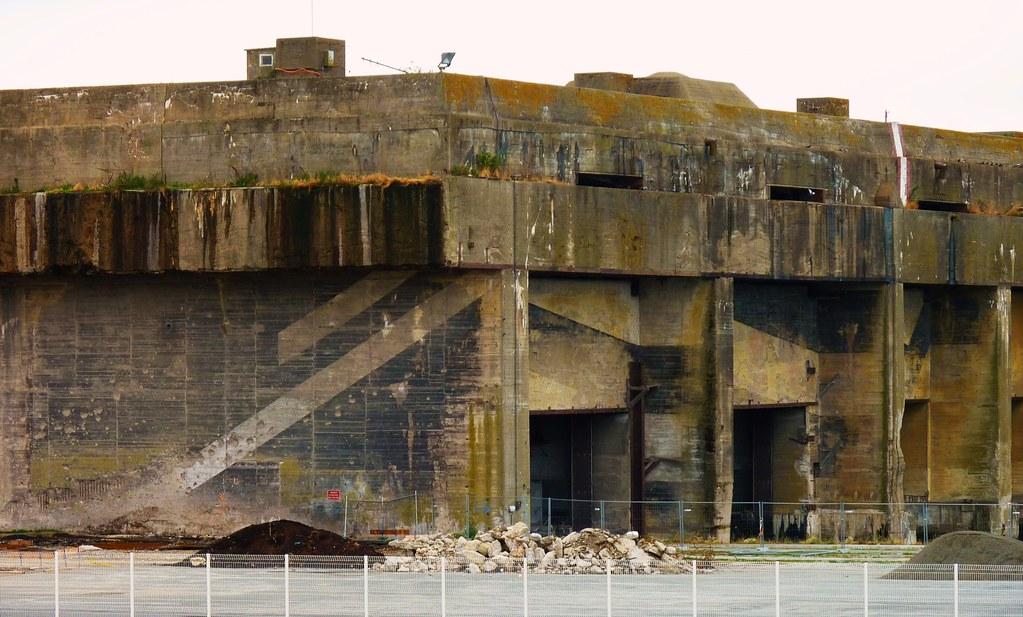 Base sous marine allemande de la rochelle la pallice 1940 for Sous couche acrylique la rochelle