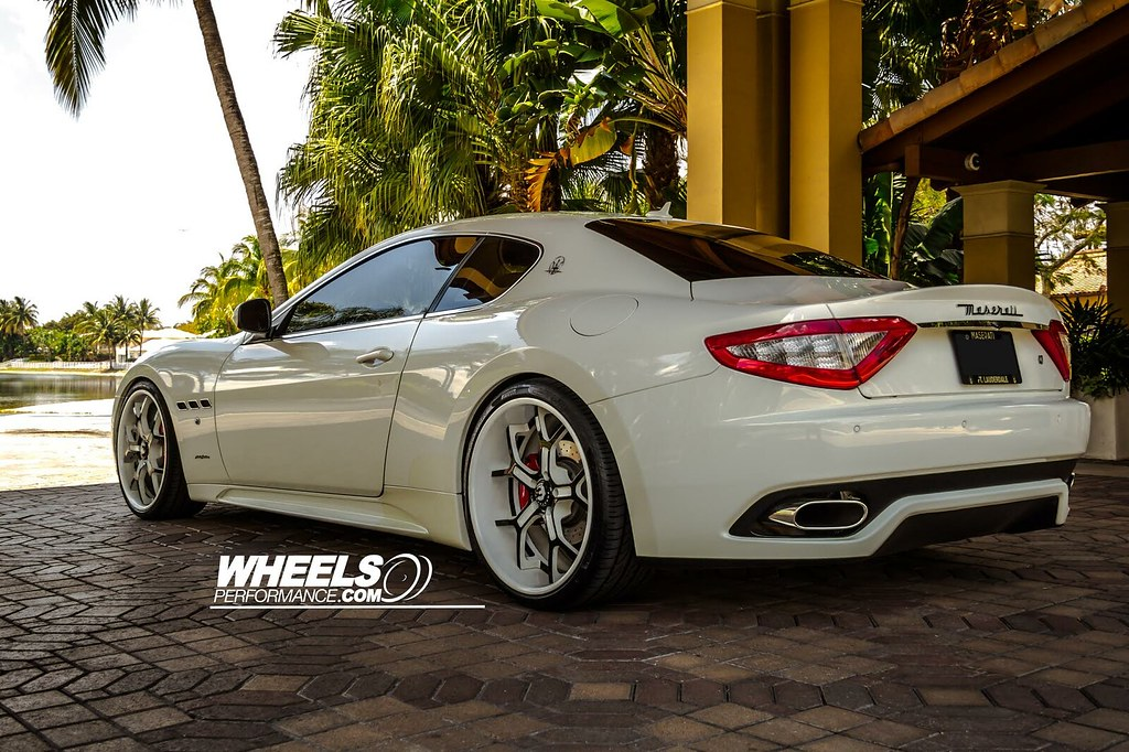 Our Client S Maserati Gran Turismo With 21 22 Quot Forgiato Gt Flickr