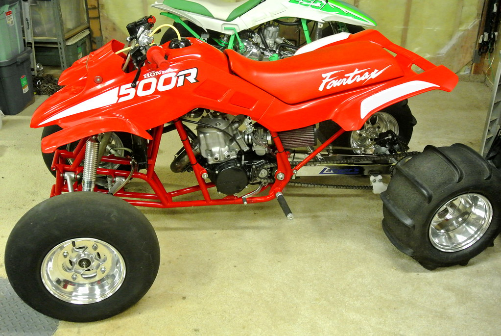 Honda Quad For Sale Laeger's cr500 honda trx fourtrax for sale (3) | Laeger's cr ...