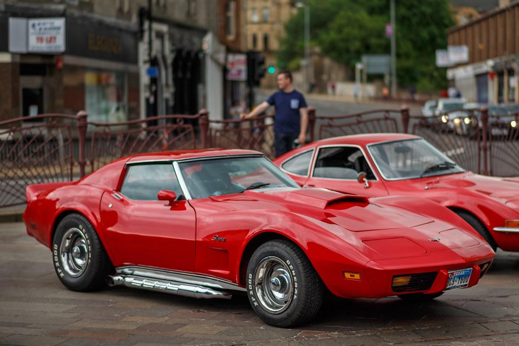 Chevrolet Corvette Stingray Red 1980 Chevrolet Corvette
