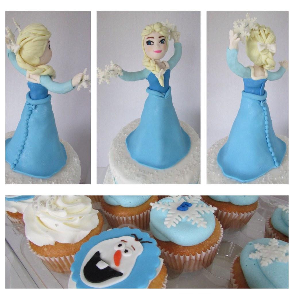 Disney Frozen Castle Cake Topper