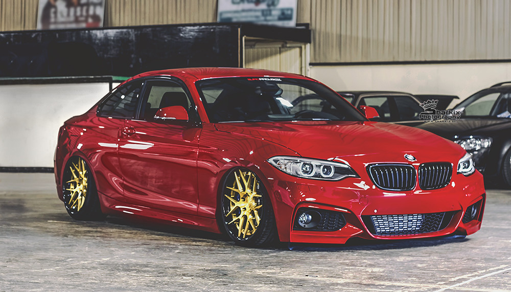World S First F22 Bmw 2 Series Bagged Www Facebook Com