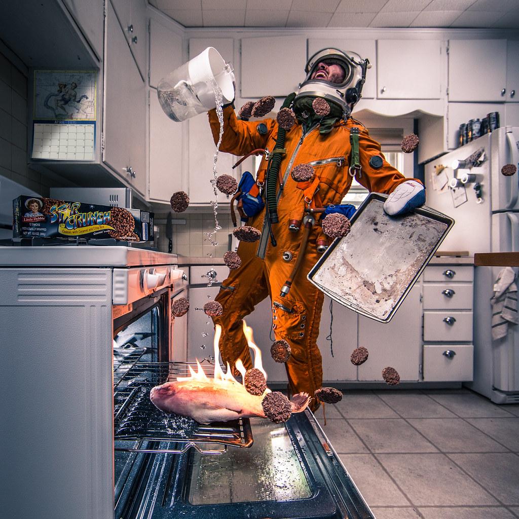 Космонавт смешная картинка