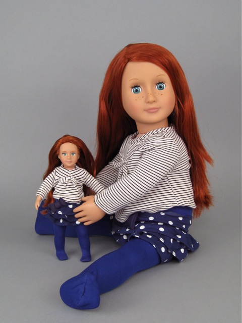 Small Toy Dolls : Our generation mini doll big kendra and