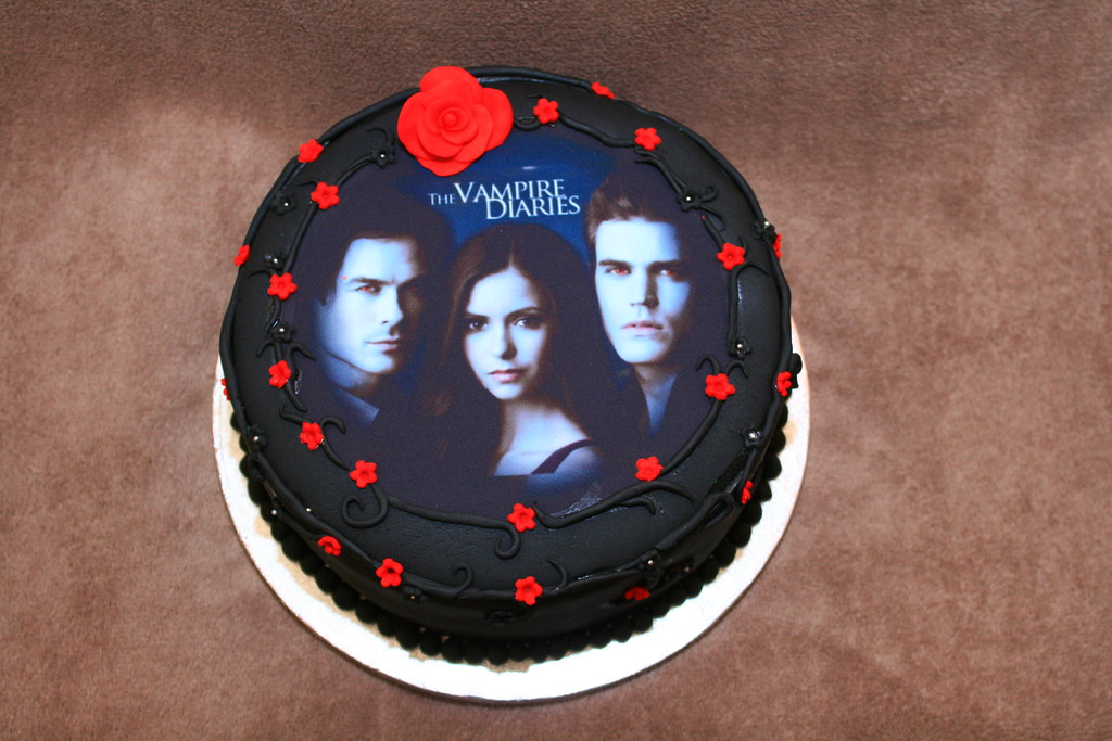 Vampire Diaries Cake Eldriva Flickr