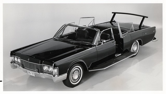 1968 lincoln continental convertible for secret service. Black Bedroom Furniture Sets. Home Design Ideas