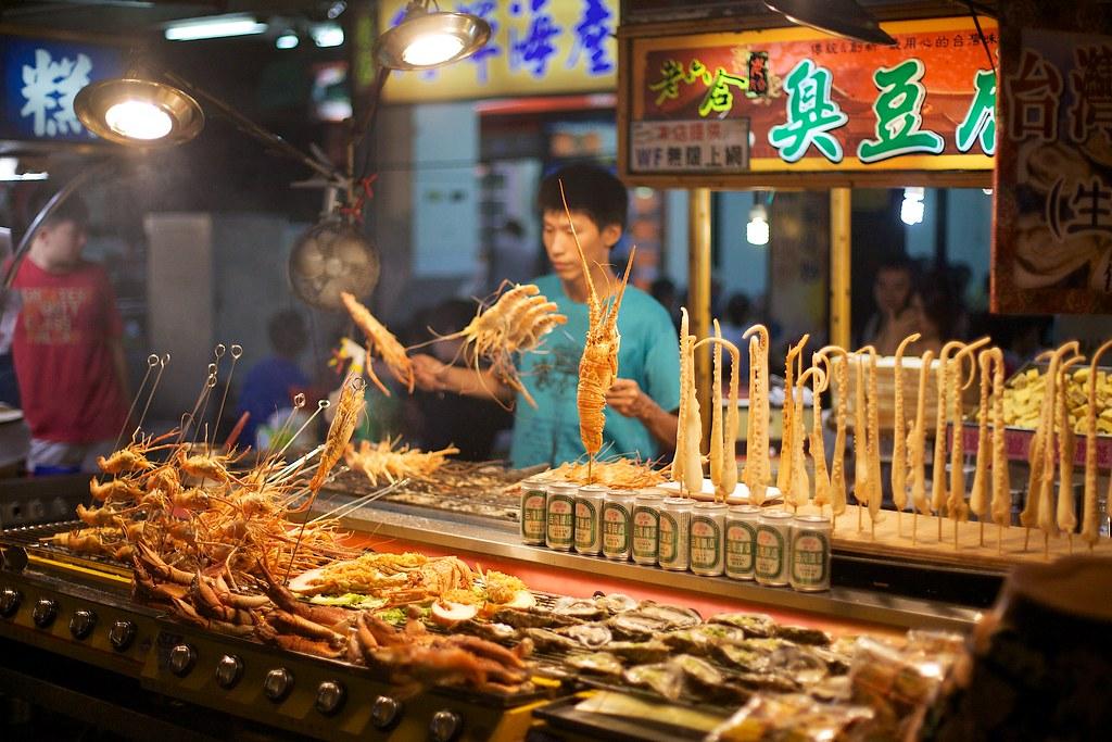 Liuhe Night Market Food