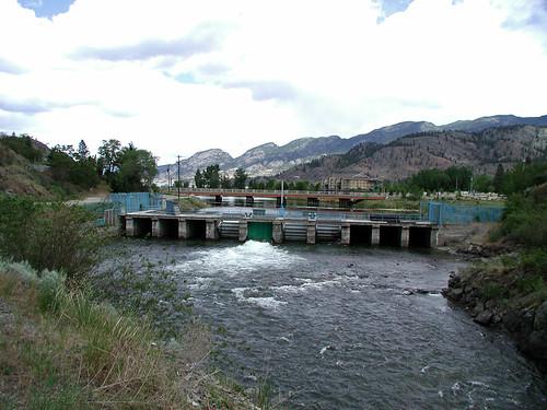 Okanagan Lake Dam Skaha Lake Dam
