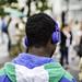 Man with Headphones Ⅱ
