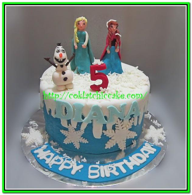 Kue ulang tahun disney the frozen Flickr - Photo Sharing!