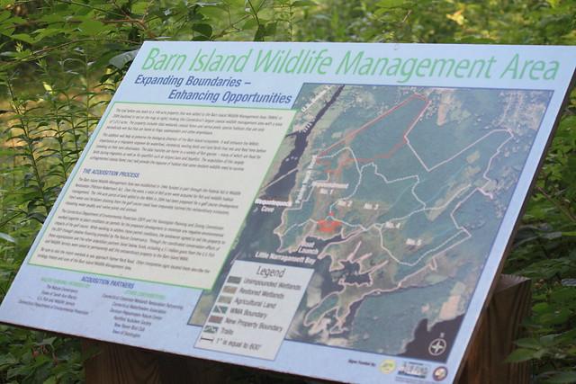 Barn Island Wildlife Management Area | Map of the wildlife ...