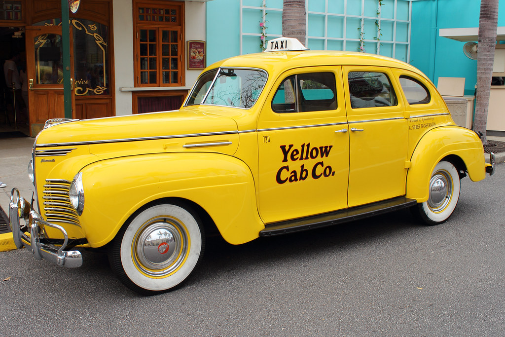 Yellow cab co 1940s plymouth yellow cab plymouth was for Schuhschrank yellow cab