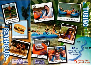 Brochure Chiang Mai Tubing and Beach Club Thailand 2