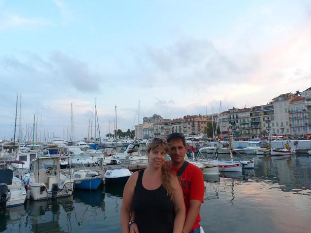 Rebeca y Sele en Cannes (Costa Azul, Francia)