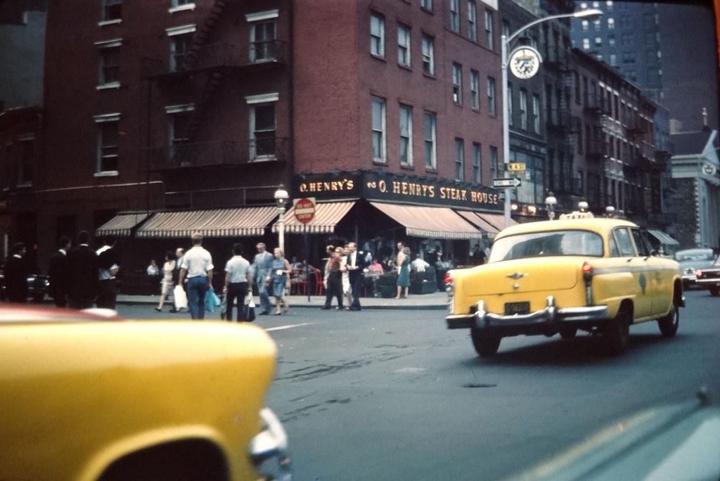 O Henrys Steak House Nyc 1964 Greenwich Village 4th St