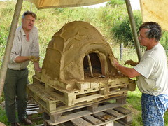 pizza oven at Spoonfest 2014
