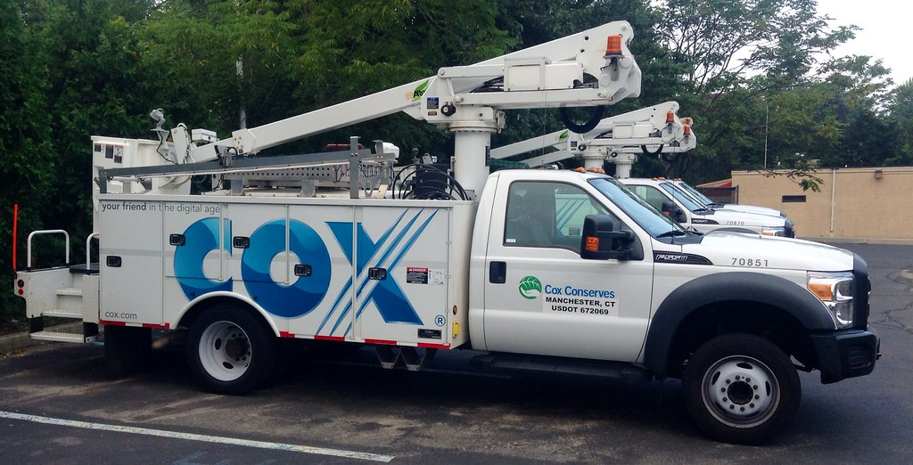 Cox Cable Bucket Truck Cox Cable Internet Phone