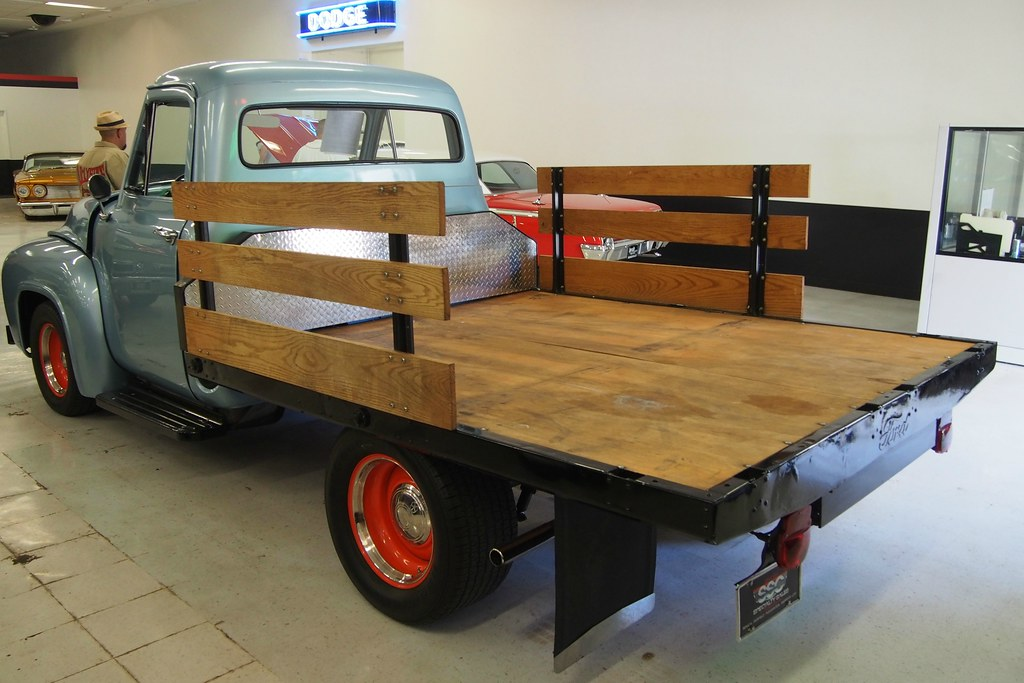 1955 Ford F 100 Fordomatic Flatbed Truck 5fmb504 5 Flickr
