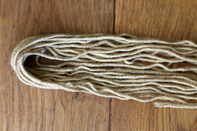 Yarn Naturally Dyed with Feverfew